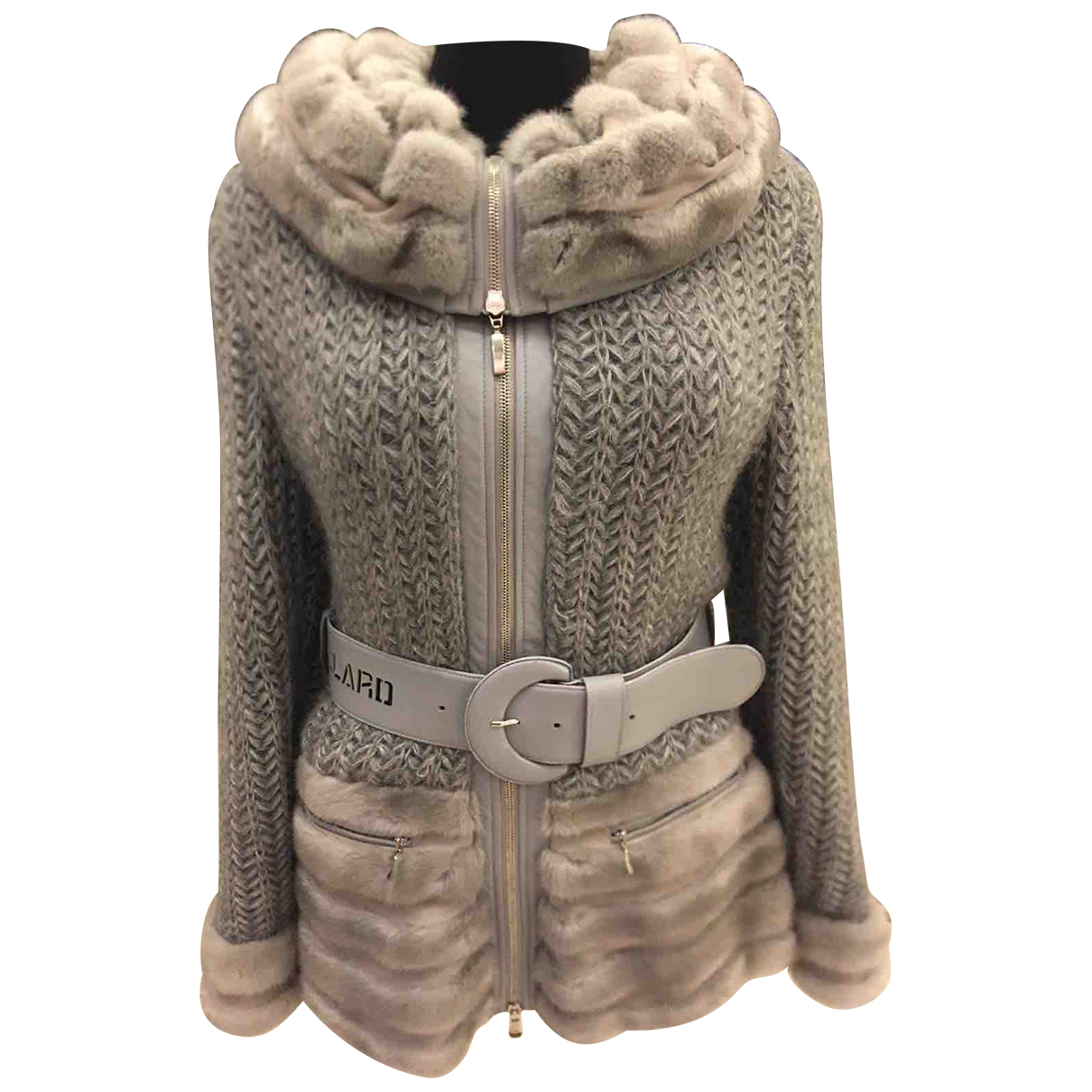 Non Signé / Unsigned \N Grey Knitwear for Women 44 IT
