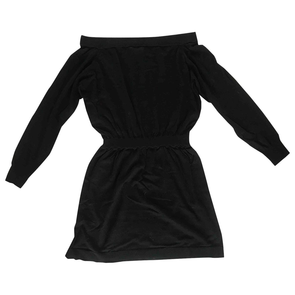 Designers Remix \N Kleid in  Schwarz Wolle