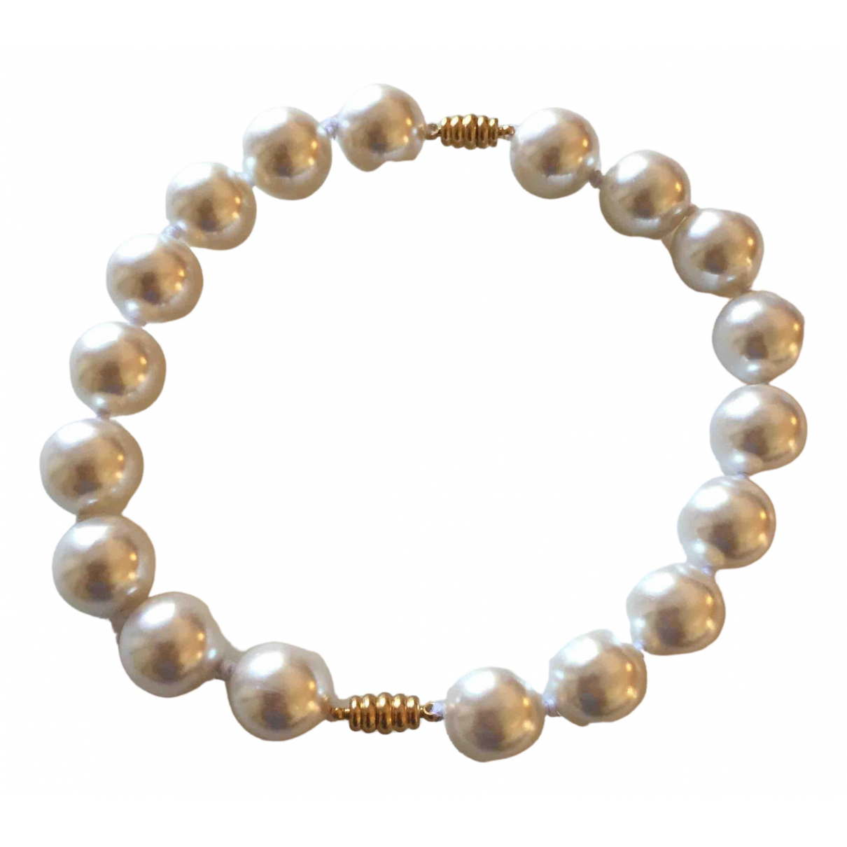 Non Signé / Unsigned Nacre White necklace for Women \N