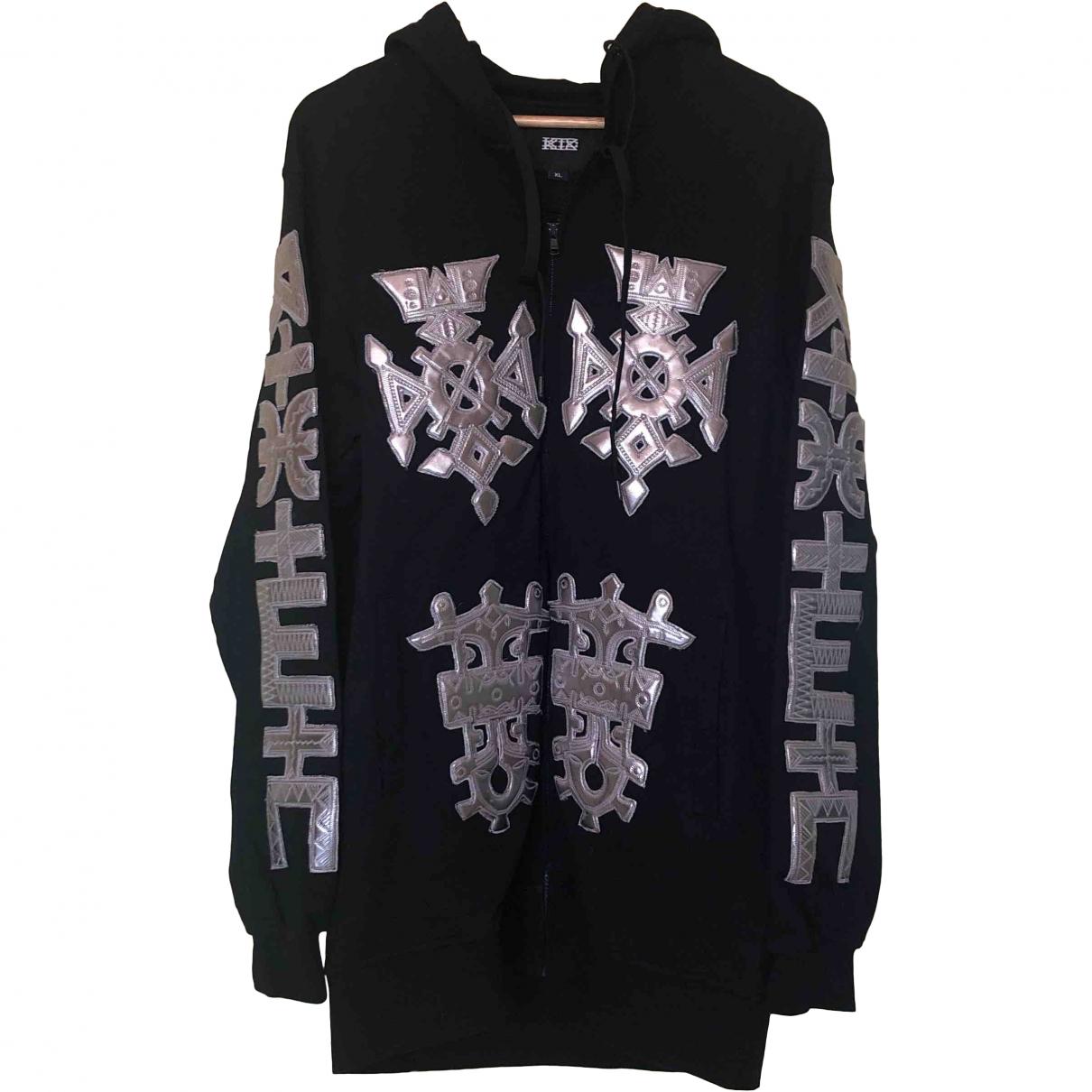 Ktz \N Black Cotton Knitwear & Sweatshirts for Men XL International