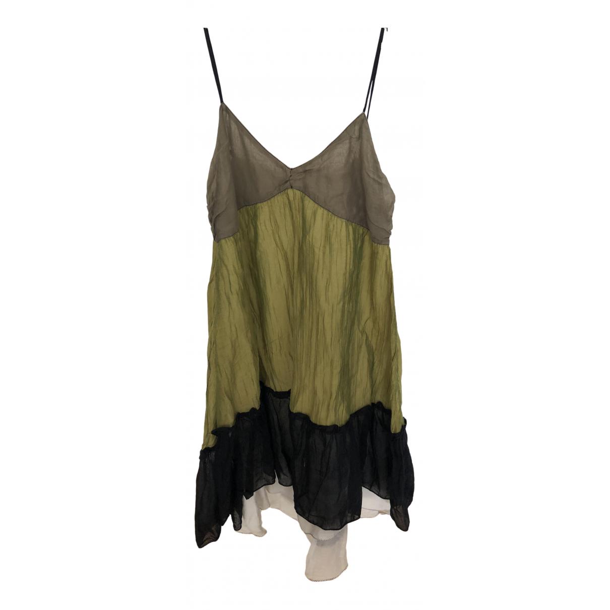 Patrizia Pepe \N Multicolour Cotton dress for Women 44 IT