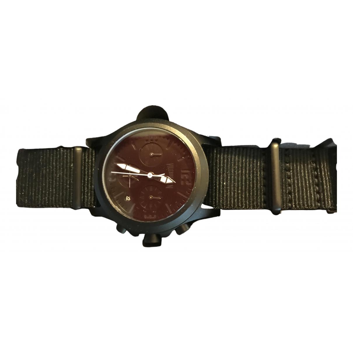Vilebrequin \N Uhr in  Schwarz Stahl