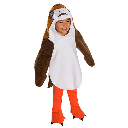 Star Wars The Last Jedi Deluxe Toddler Porg Costume, X-small , Multiple Colors