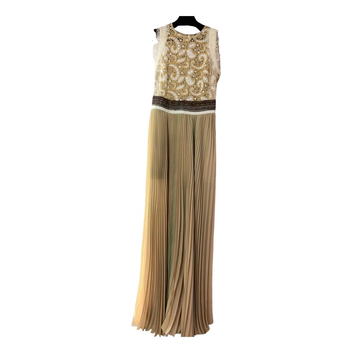 Msgm \N Kleid in  Beige Polyester