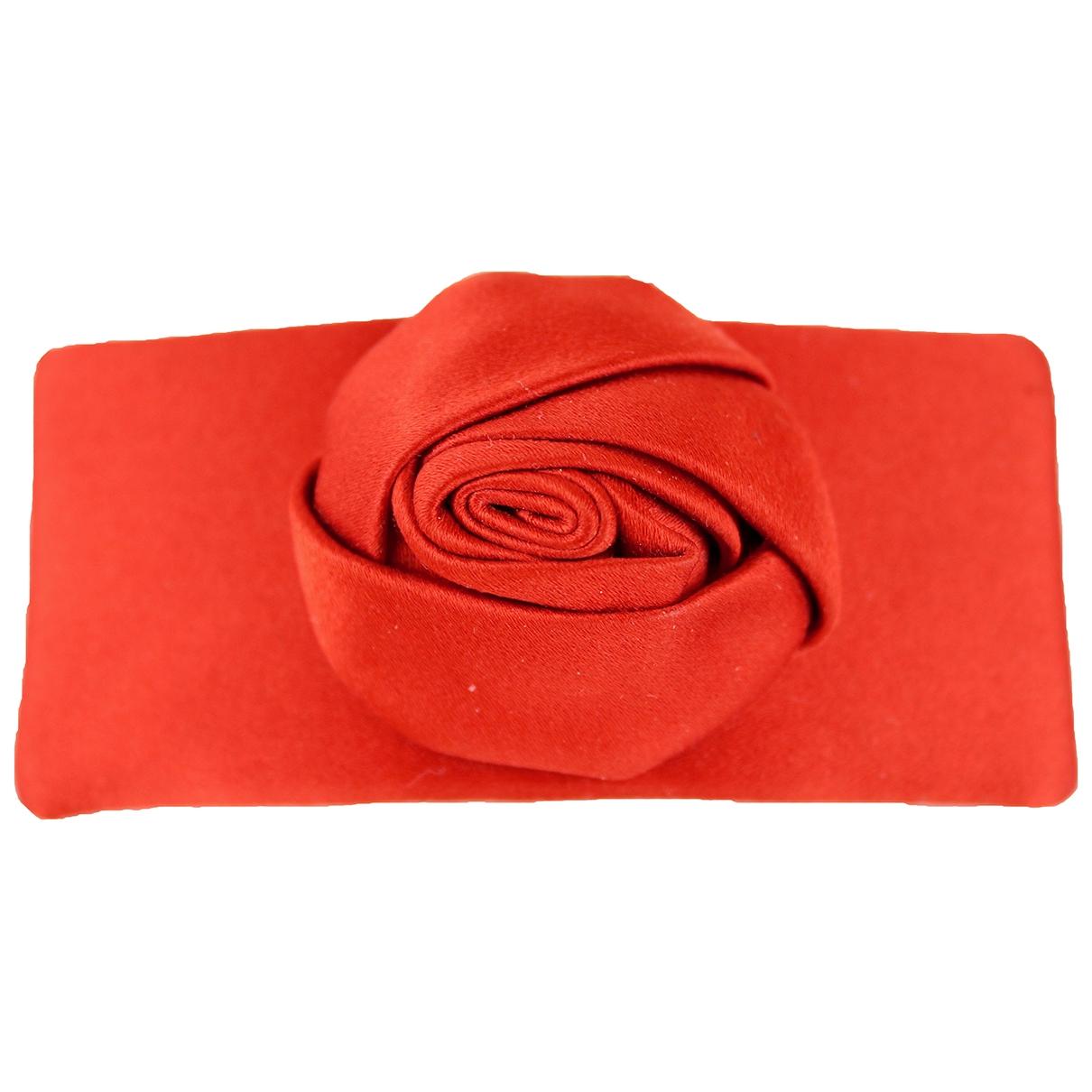 Valentino Garavani - Bijoux de tete   pour femme en soie - rouge
