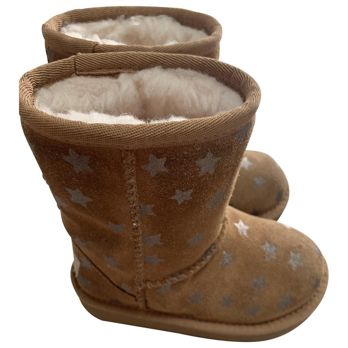 Ugg N Camel Suede Boots for Kids 7 UK