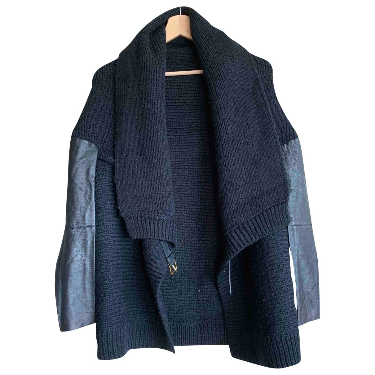 Maje - Pull   pour femme en laine - noir