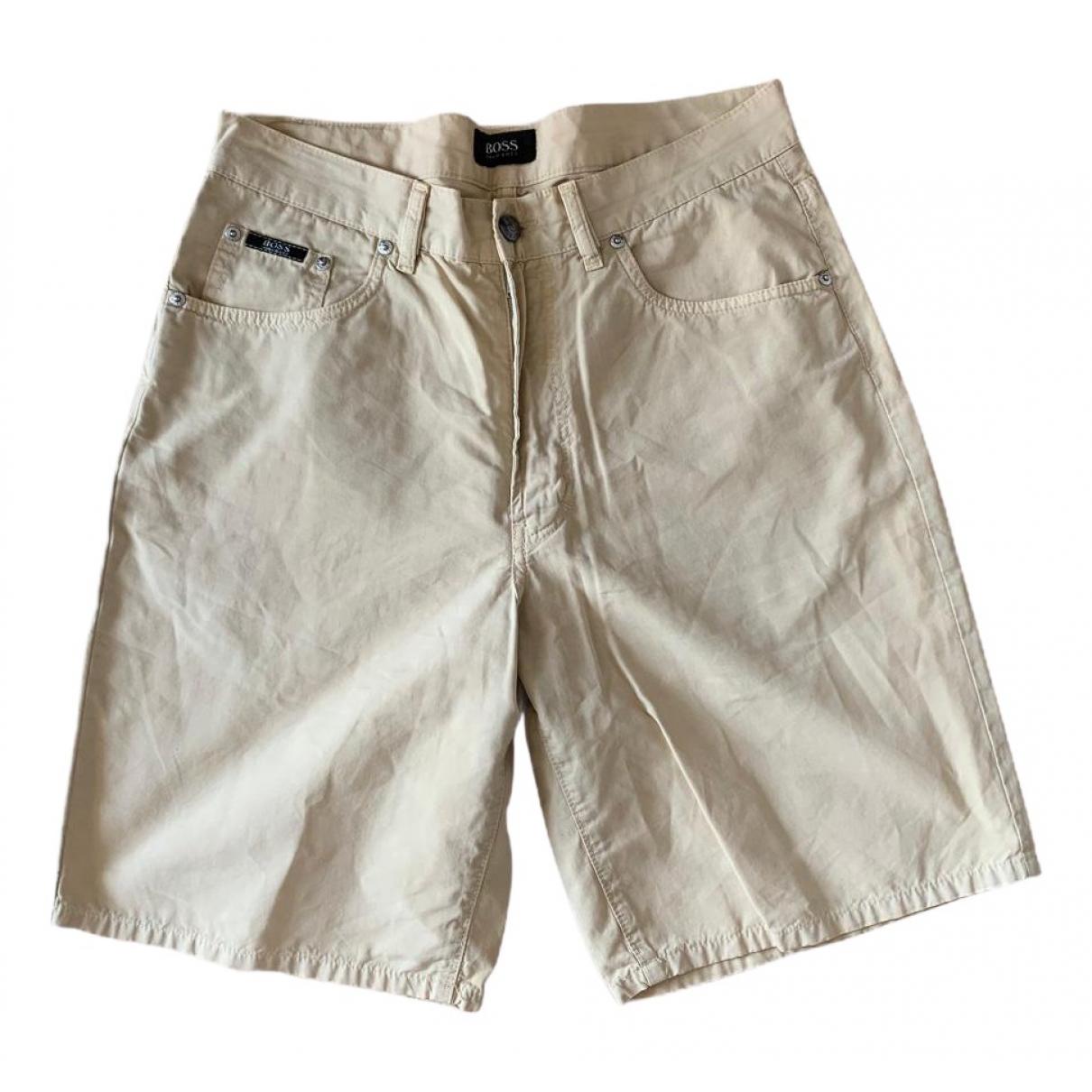 Boss \N Beige Shorts for Men 48 IT