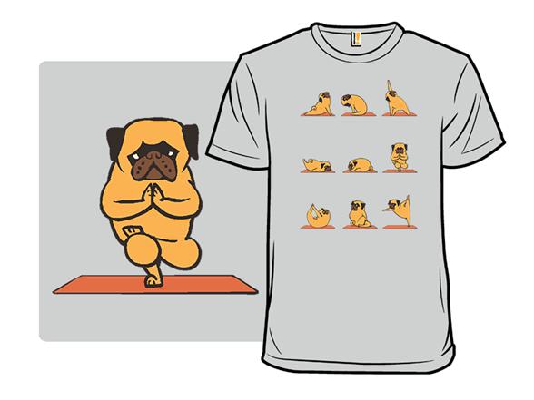 Pug Yoga T Shirt