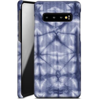 Samsung Galaxy S10 Smartphone Huelle - Tie Dye 2 Navy von Amy Sia