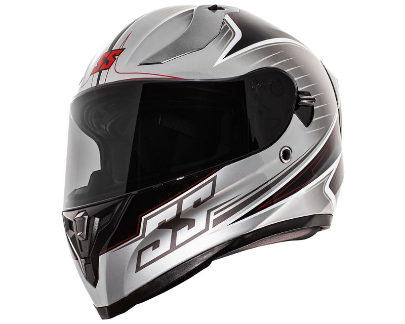 Speed and Strength 884898 SS2100 Track Day Helmet Protective ABS Shell Black MD