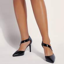Point Toe Ultra High Heeled Pumps