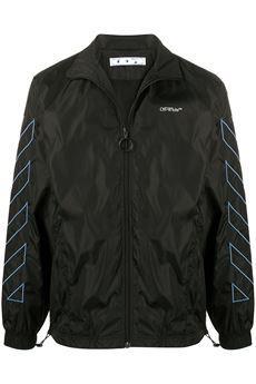 Diagonal Stripes Jacket