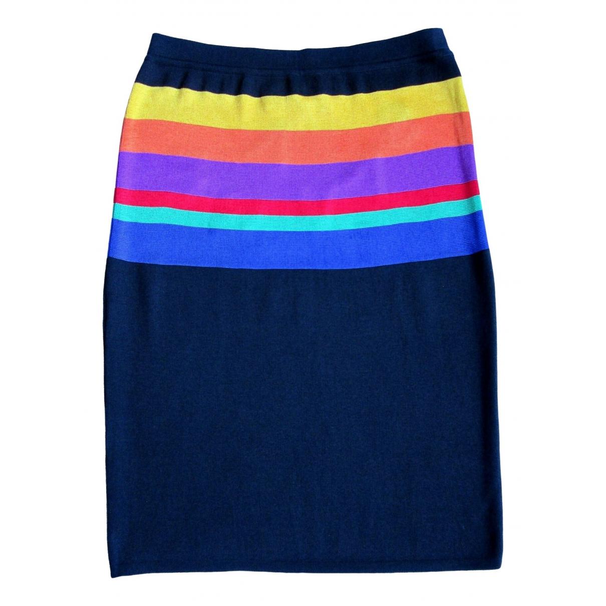 Jc De Castelbajac - Jupe   pour femme en coton - multicolore