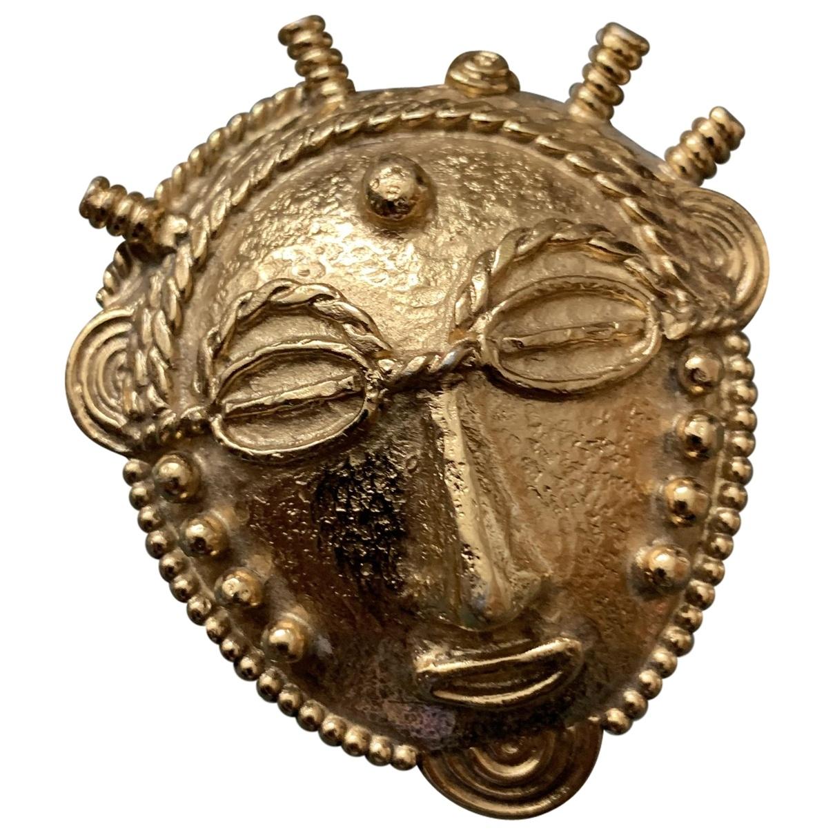 Goossens - Broche   pour femme en metal - dore