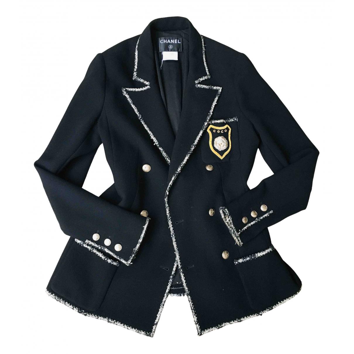 Chanel N Wool jacket for Women 40 FR