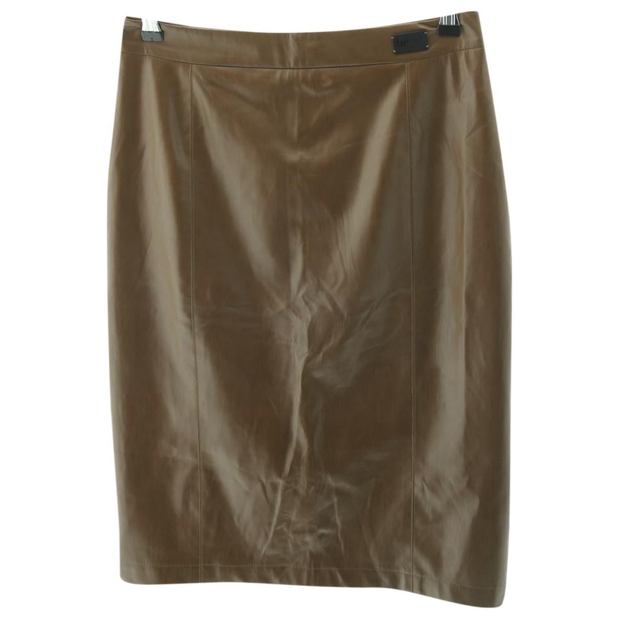 Blumarine \N Brown Fur skirt for Women 36 FR