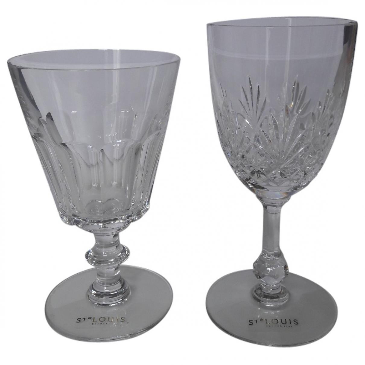 Saint-louis - Arts de la table   pour lifestyle en cristal - blanc