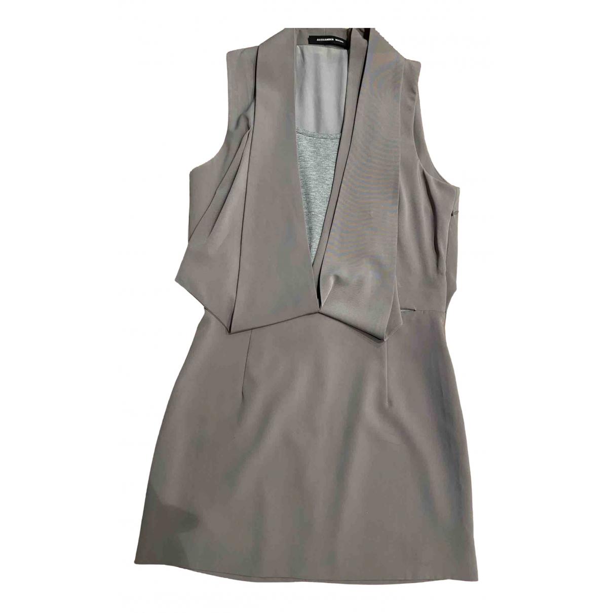 Alexander Wang \N Beige Cotton dress for Women 36 FR