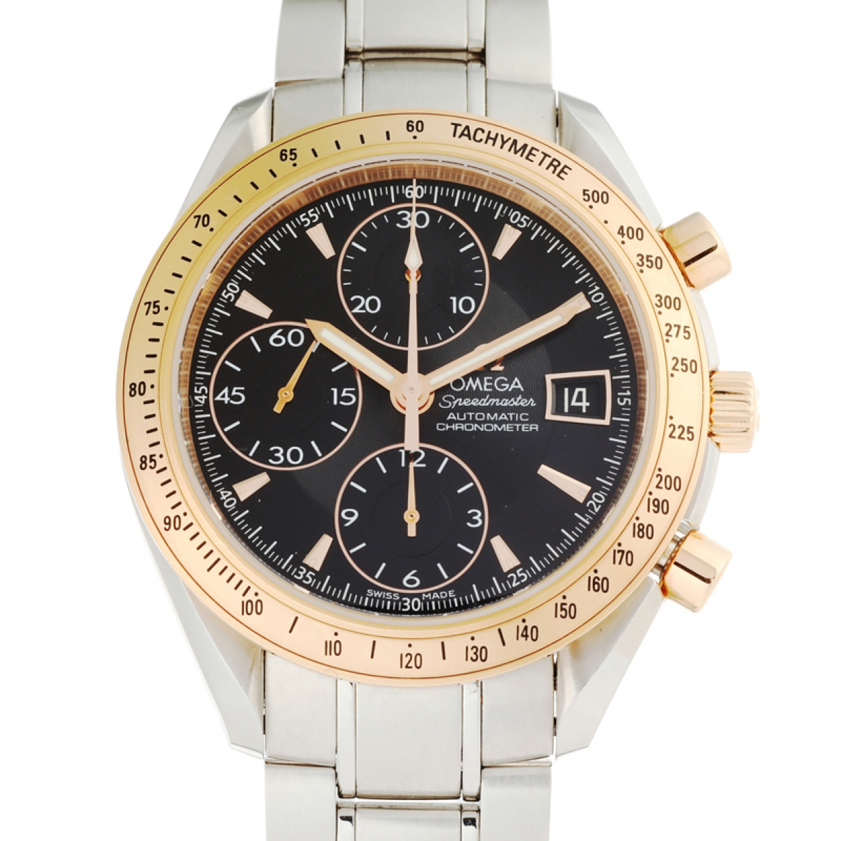 Omega Speedmaster Silver gold and steel watch for Men \N