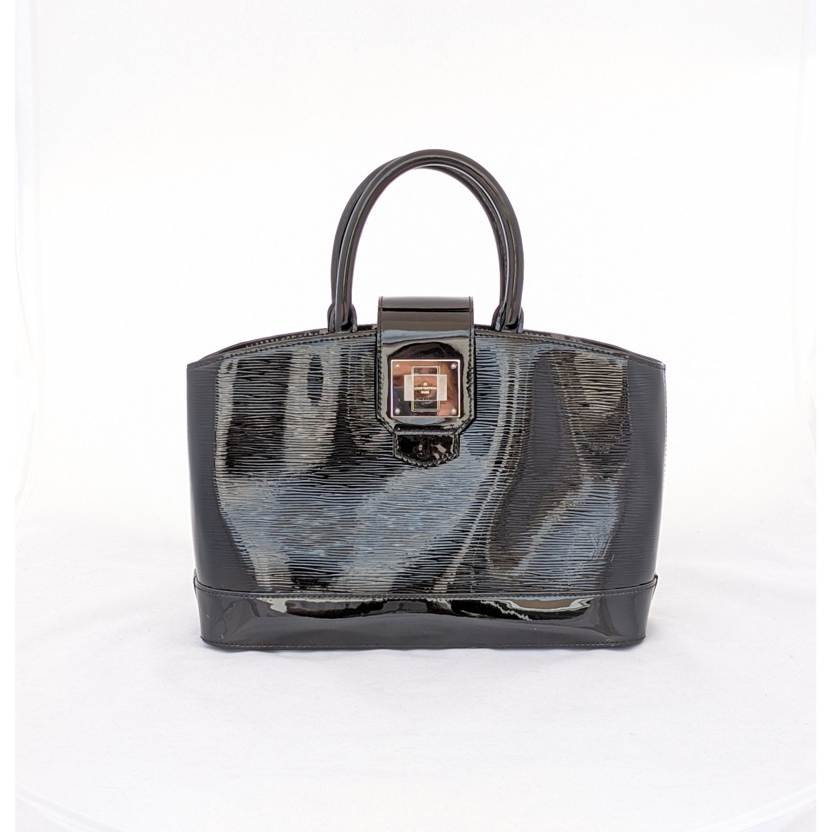 Louis Vuitton \N Black Patent leather handbag for Women \N