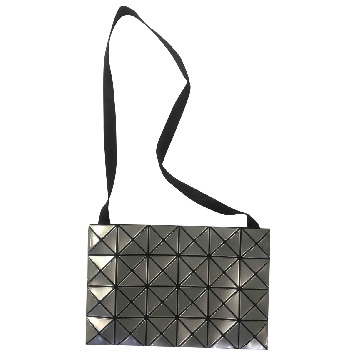 Issey Miyake - Sac a main   pour femme - gris