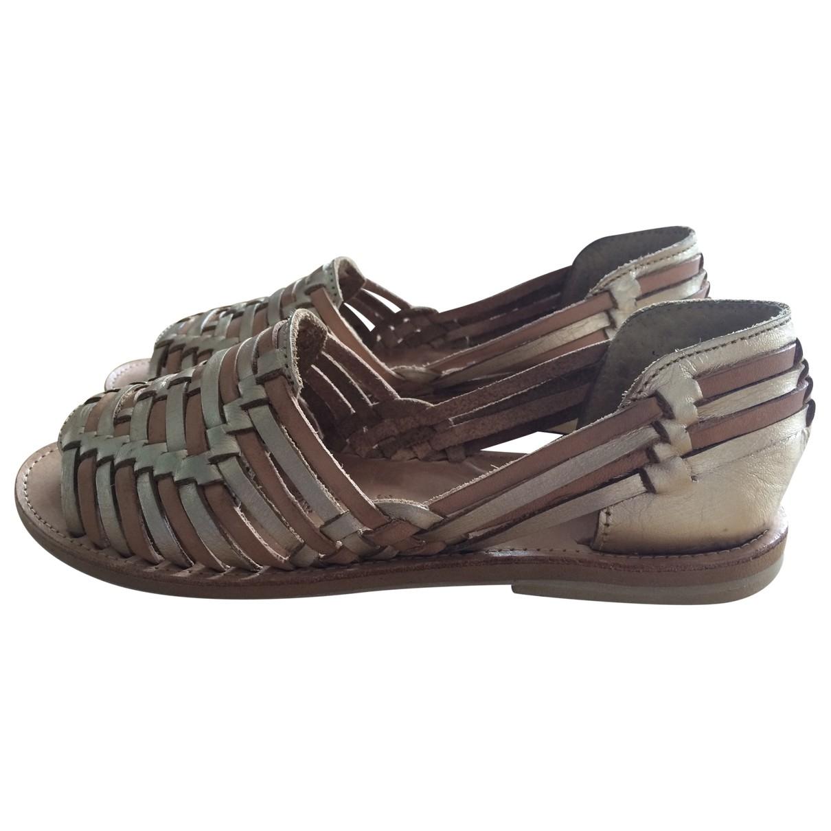 Sandalias de Cuero Leon & Harper