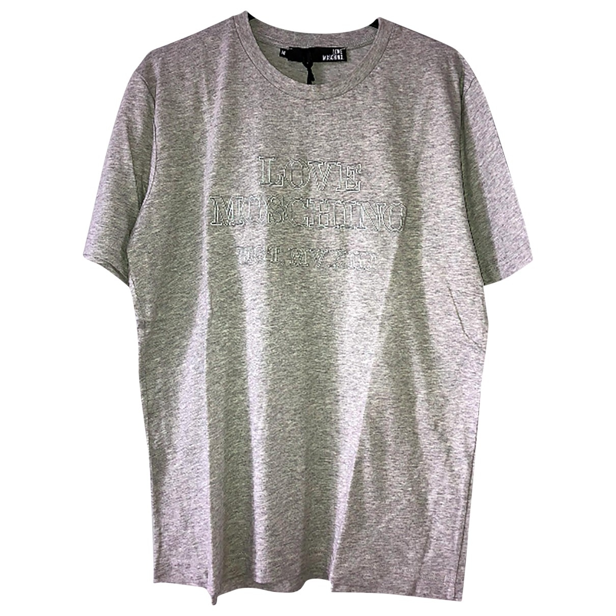 Moschino Love \N T-Shirts in  Grau Baumwolle