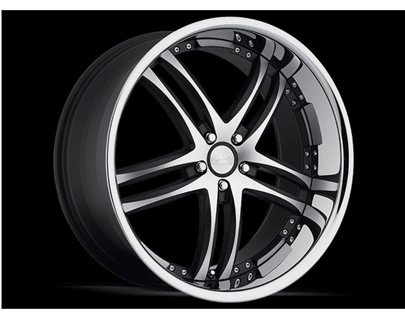 Concept One C743 22105 42 5P CMBKF RS-55 Matte Black Wheel 22x10.5 5x112 42mm