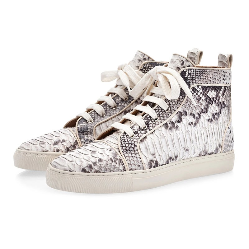 Ericdress Color Block Round Toe High-Cut Upper Men's Skate Shoes