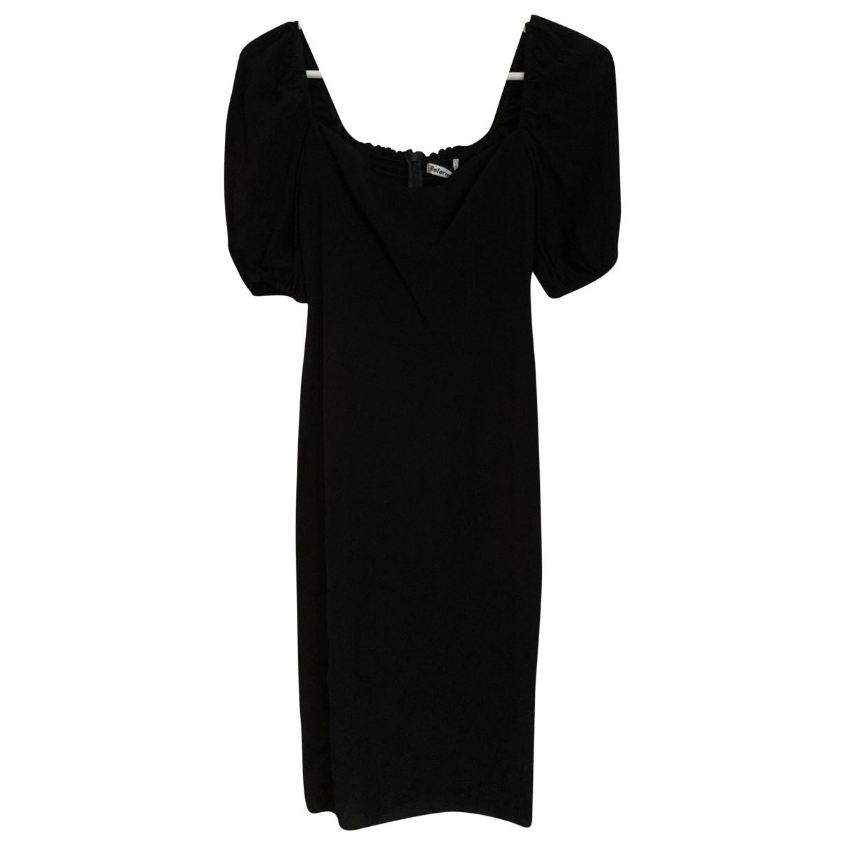 Reformation \N Black dress for Women XS International