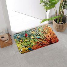 Tree Print Door Mat