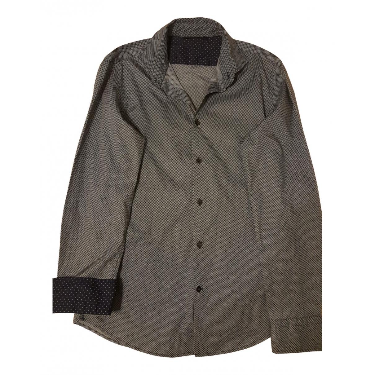 Gas - Chemises   pour homme en coton - bleu