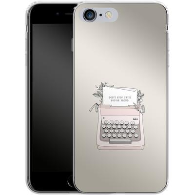 Apple iPhone 6s Plus Silikon Handyhuelle - Dont Stop von Barlena