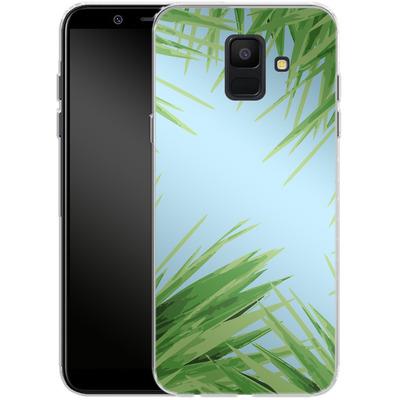 Samsung Galaxy A6 Silikon Handyhuelle - Aloe von Mukta Lata Barua