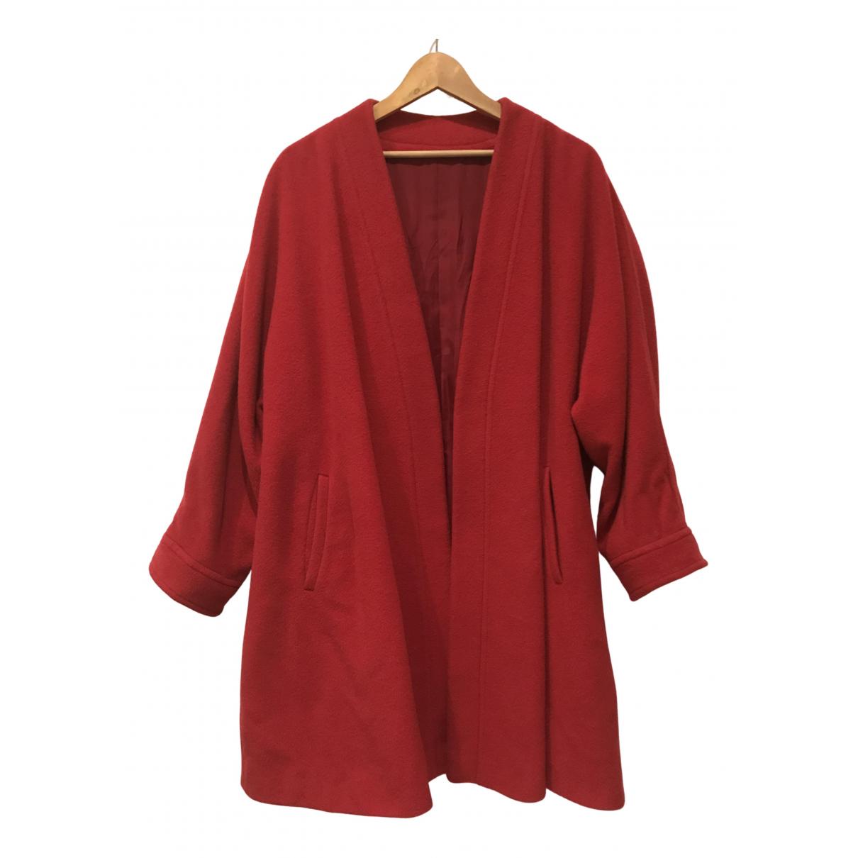 Elena Miro \N Maentel in  Rot Wolle