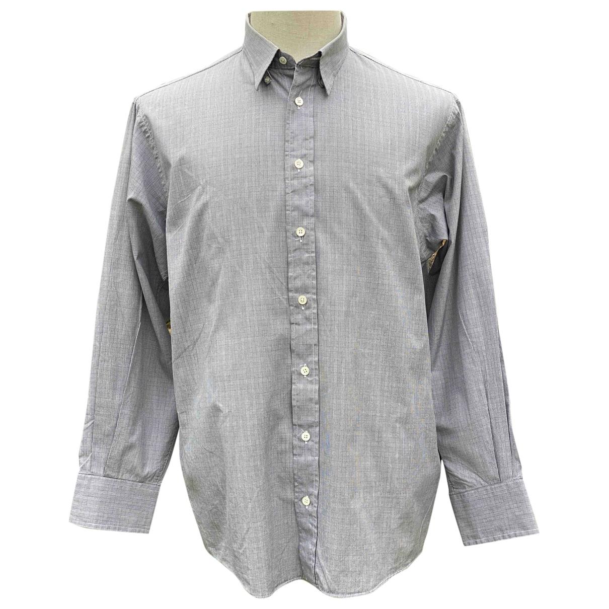 Burberry \N Hemden in  Anthrazit Baumwolle