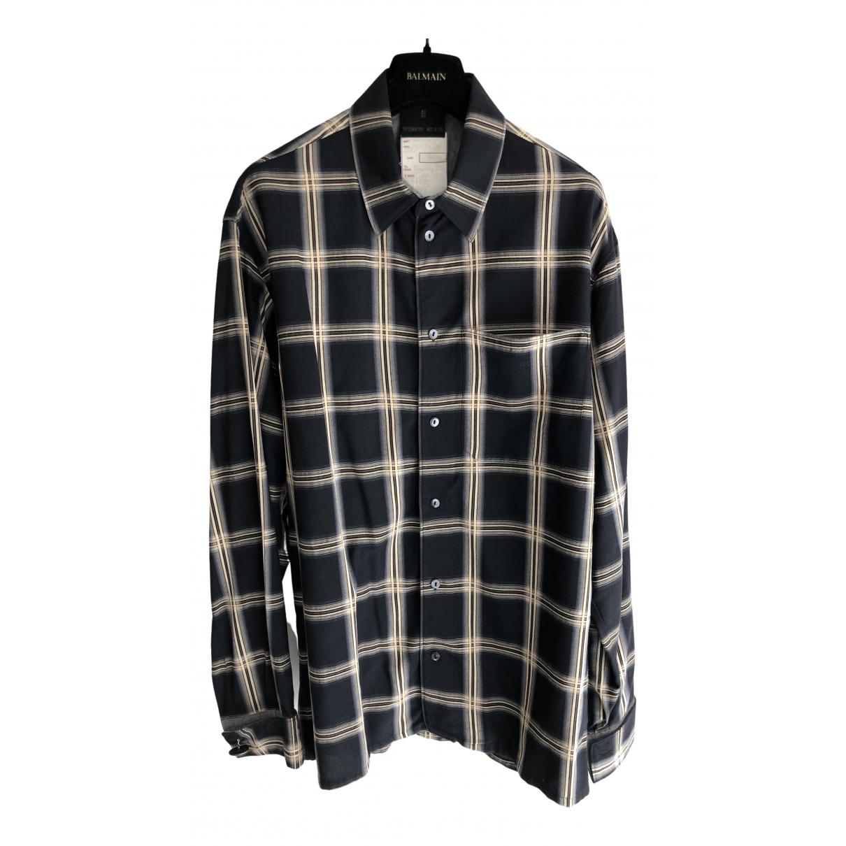 Jean Paul Gaultier - Chemises   pour homme en coton - marine