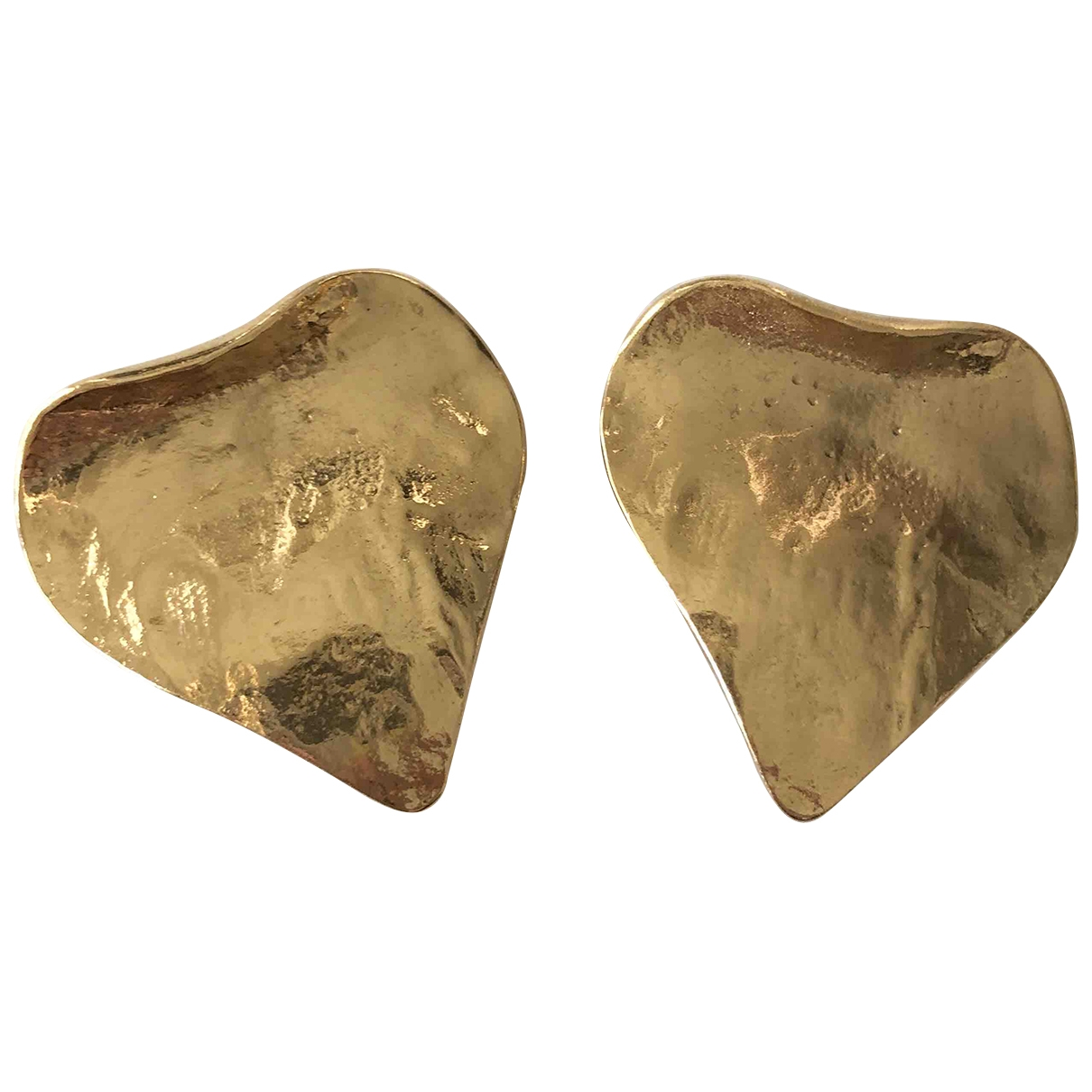 Yves Saint Laurent \N OhrRing in  Gold Vergoldet