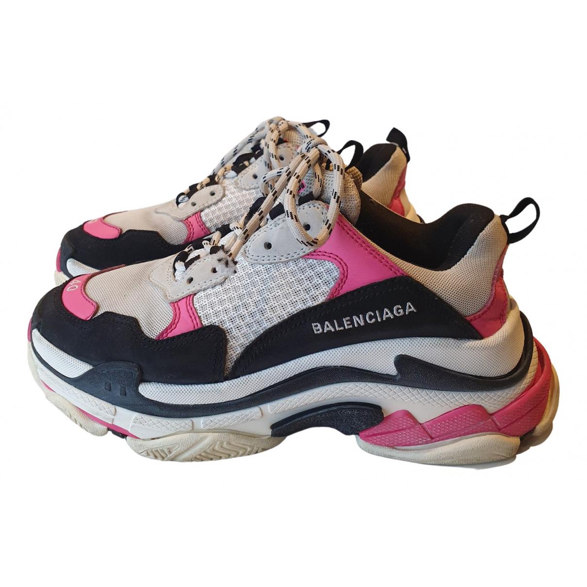 Balenciaga - Baskets Triple S pour femme - multicolore