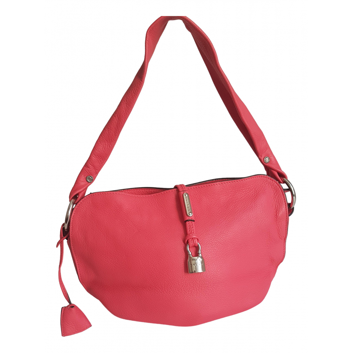 Celine \N Pink Leather handbag for Women \N