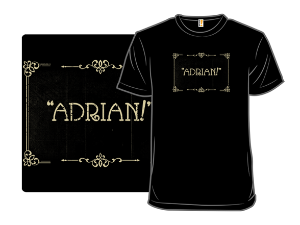 Silent Adrian T Shirt