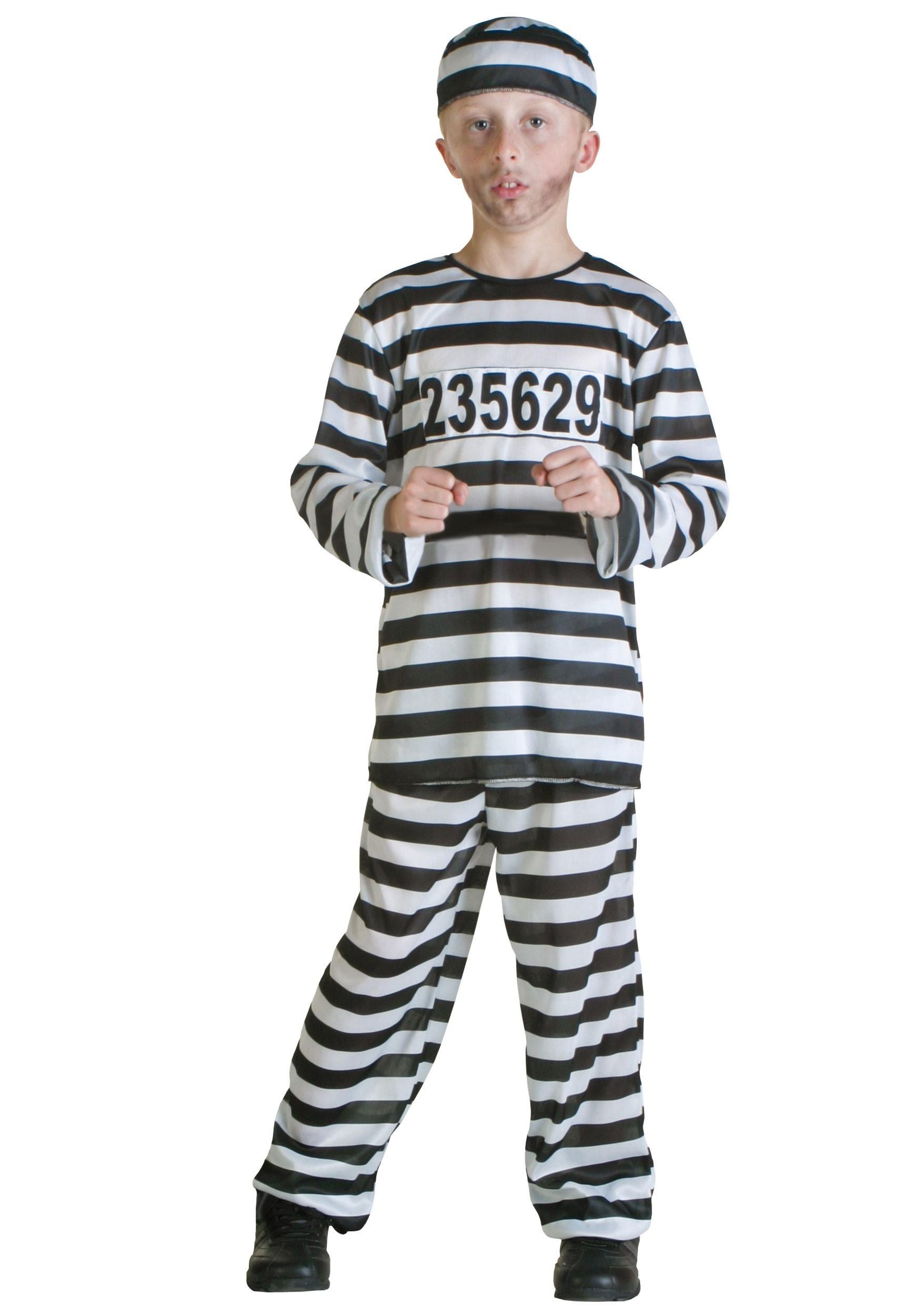 Prisoner Boys Costume