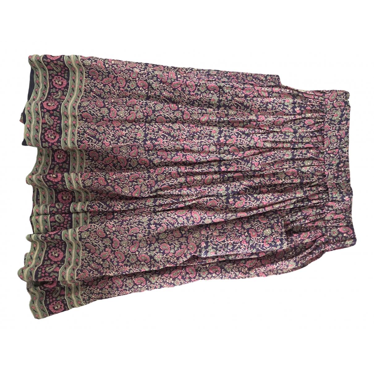 Laurence Dolige - Jupe   pour femme en coton - multicolore