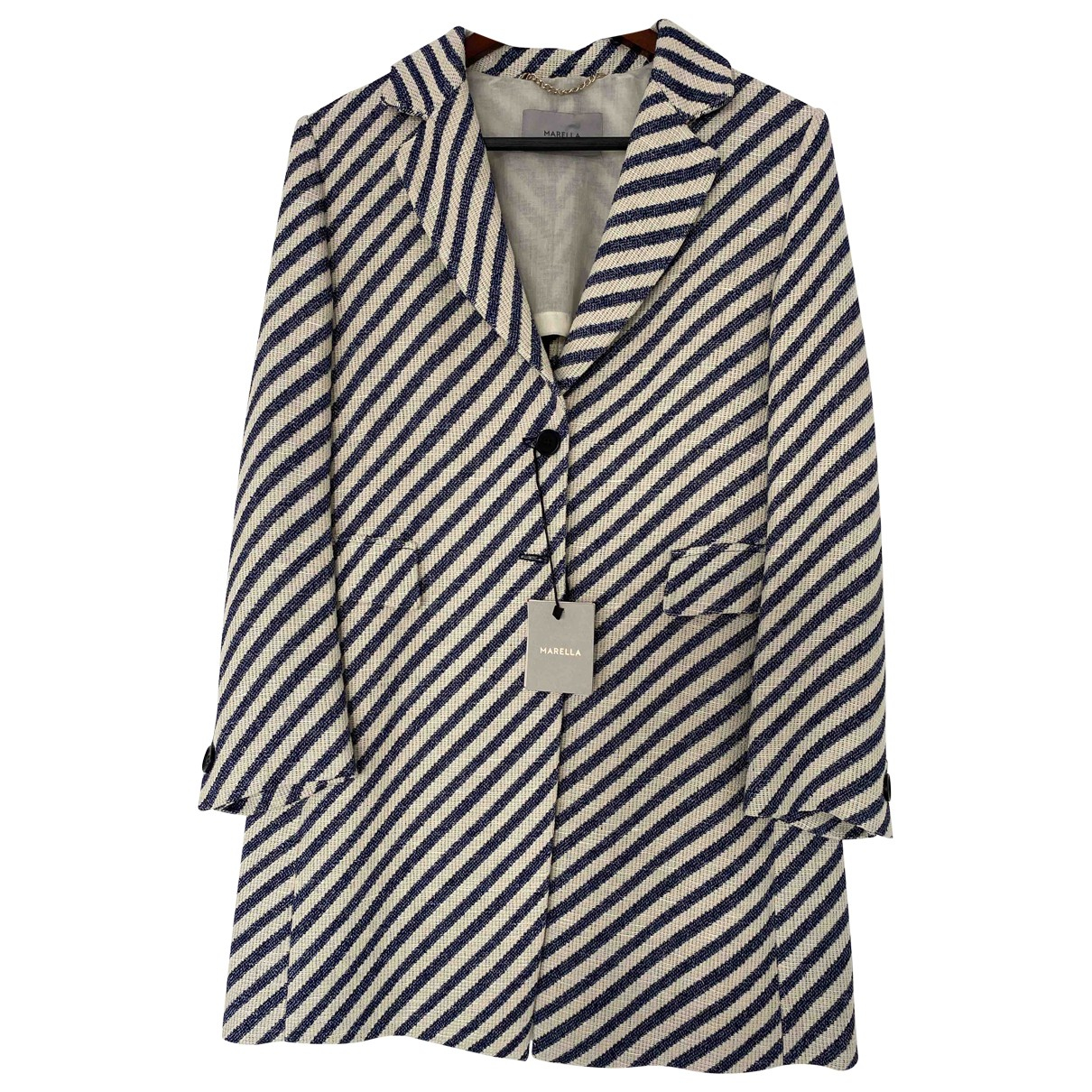 Marella \N Multicolour Cotton jacket for Women 44 IT