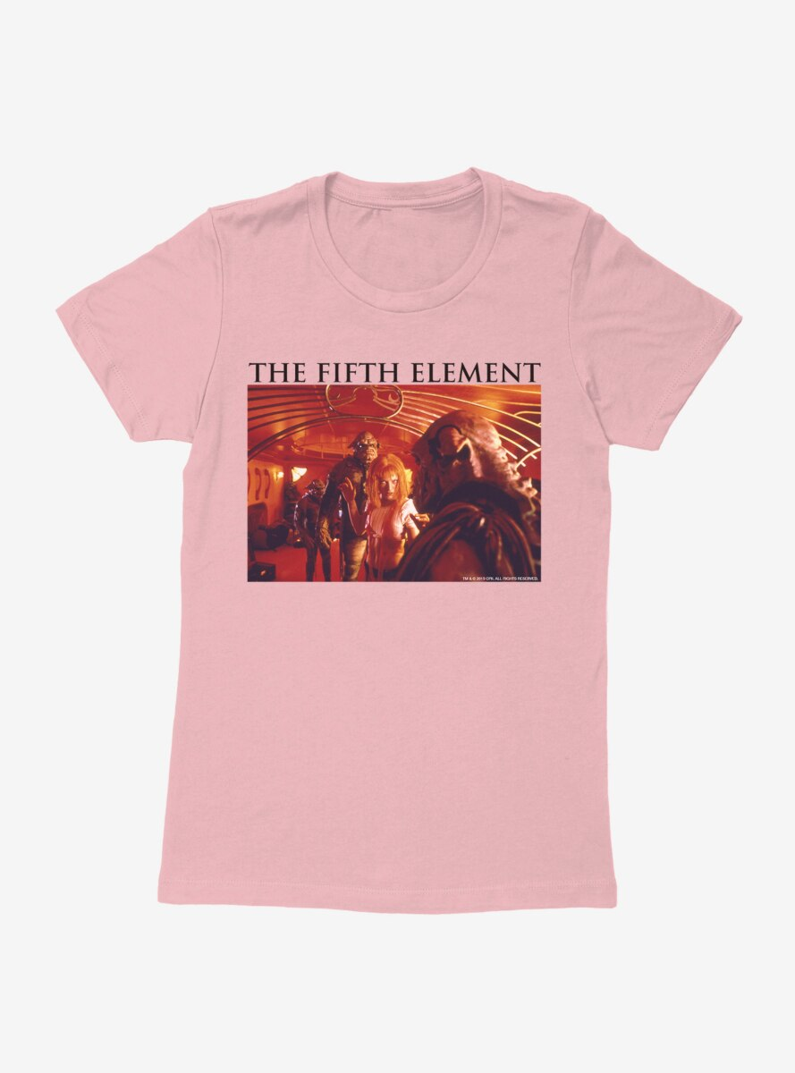 The Fifth Element Fight Womens T-Shirt
