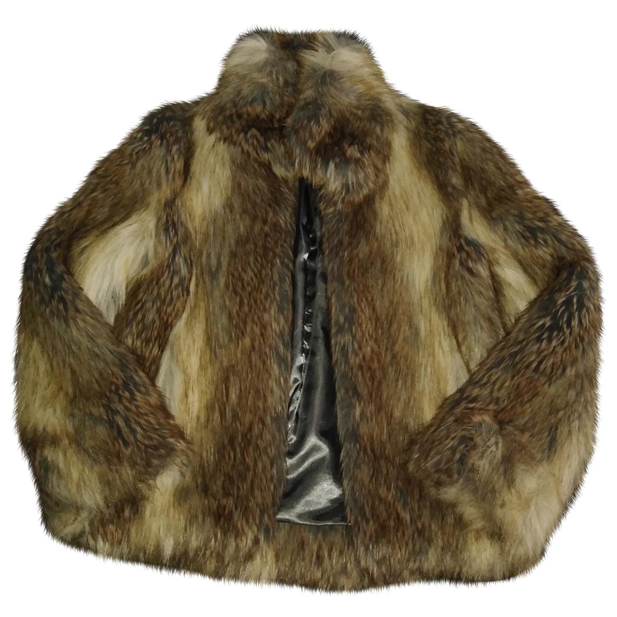 Zadig & Voltaire \N Beige Faux fur coat for Women 34 FR