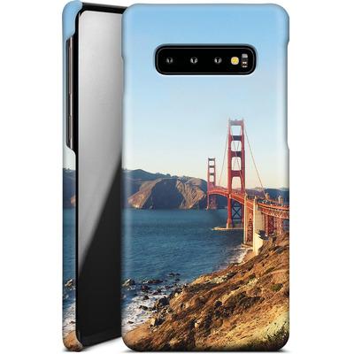 Samsung Galaxy S10 Plus Smartphone Huelle - Golden Gate Galore von Omid Scheybani