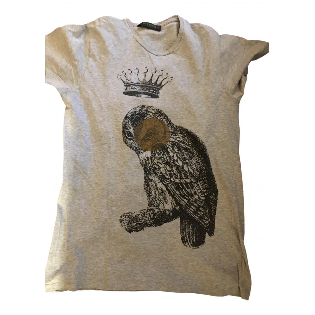 Etro - Tee shirts   pour homme en coton - gris
