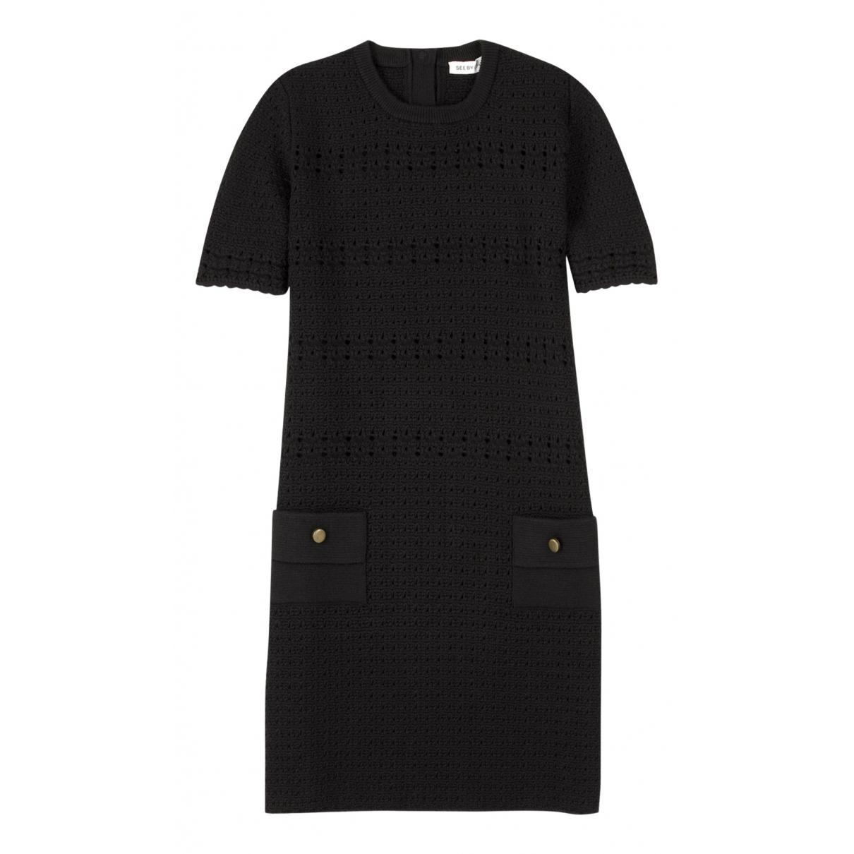 See By Chloe \N Kleid in  Schwarz Wolle